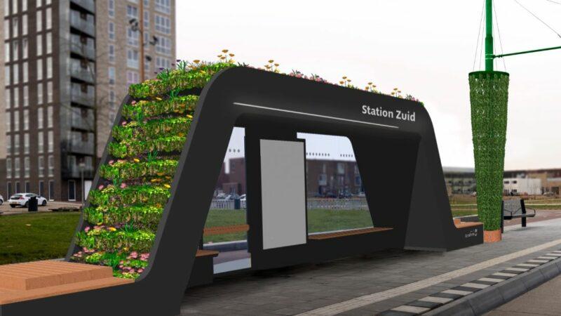 Arnhem krijgt groene bushalte met paspoort