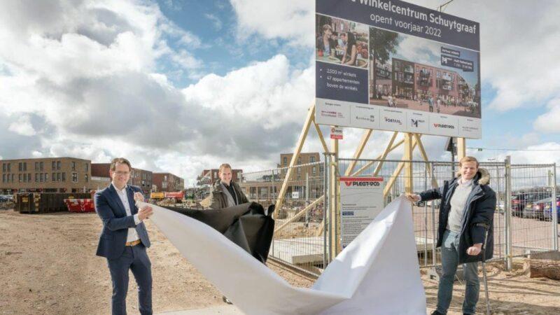 Uitbreiding winkelcentrum Schuytgraaf van start
