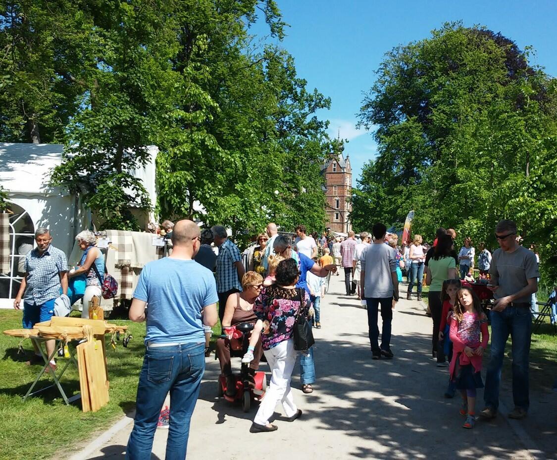 Trots op park Sonsbeek zondag 1 Augustus.